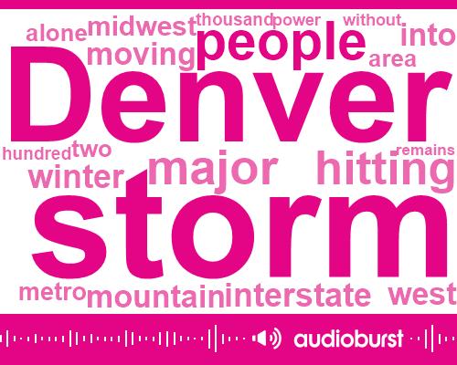 Colorado Springs,Colorado,Laney Feick,Denver,Denver International Airport,Bowen,Walmart,Dan Boyce,Carrie,Boulder