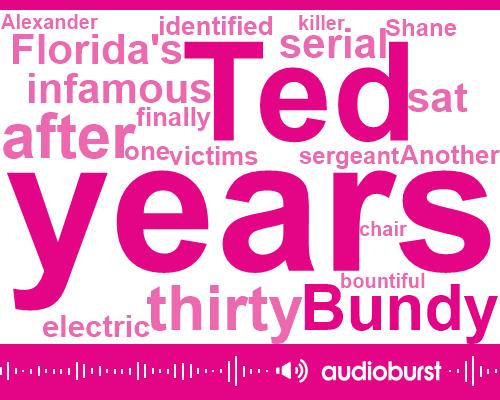 Ted Bundy,Shane Alexander,Utah,Florida,Kens,Skating,Thirty-Six Hours,Seventeen Year,Thirty Years