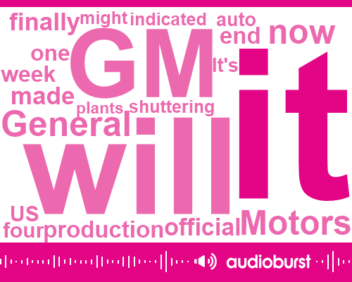 General Motors,Youngstown,Chevy,United States,Cruz,Ohio,Official