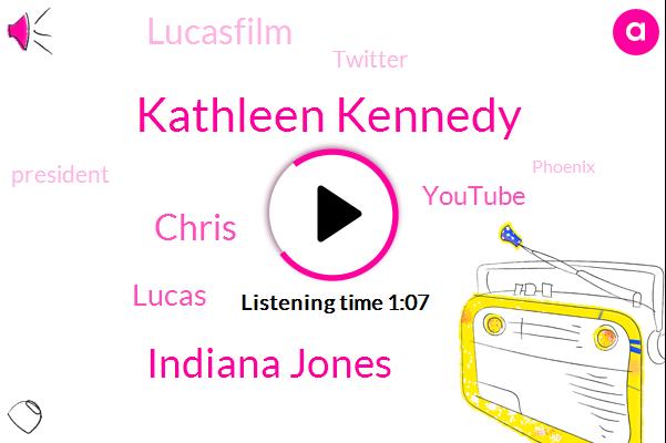 Kathleen Kennedy,Youtube,President Trump,Lucasfilm,Twitter,Phoenix,Indiana Jones,Chris,Lucas