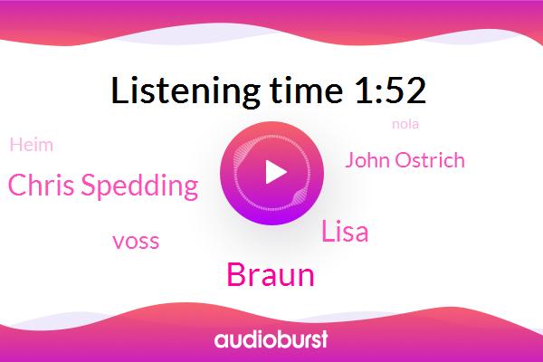 Braun,Chris Spedding,Lisa,Voss,John Ostrich,Heim,Avalon,Nola,Solitu