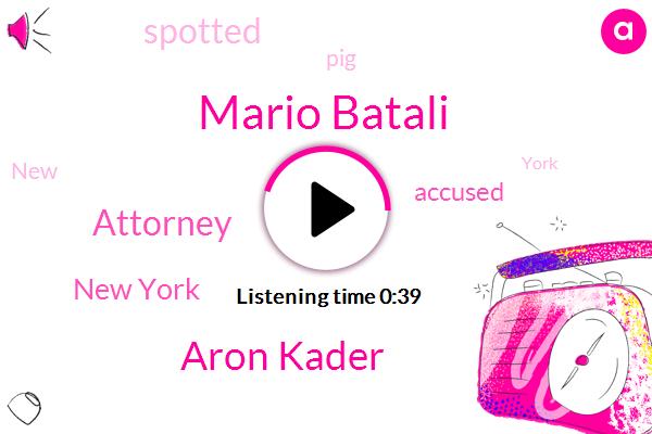 New York,Mario Batali,ABC,Attorney,Aron Kader
