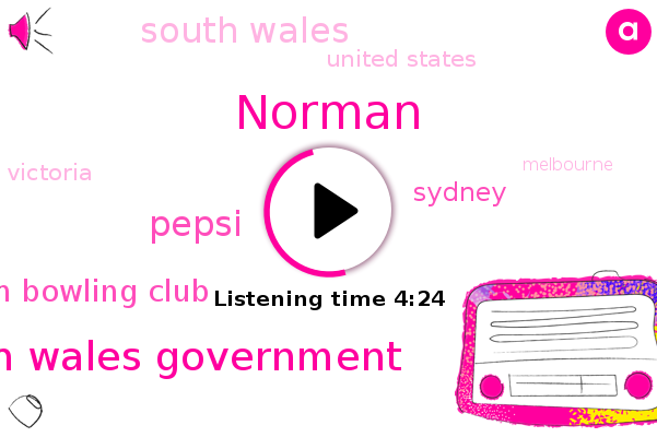 Sydney,South Wales,South Wales Government,Pepsi,Norman,Avalon Bowling Club,Bowling,United States,Victoria,Melbourne