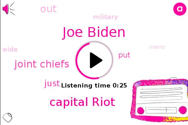 Capital Riot,Joe Biden,Joint Chiefs