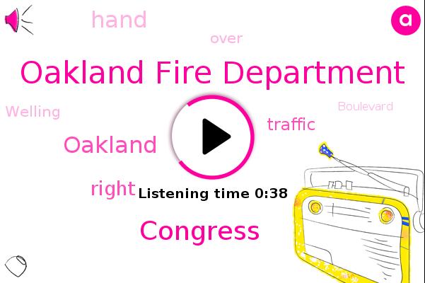 Oakland Fire Department,Kcbs,Oakland,Congress