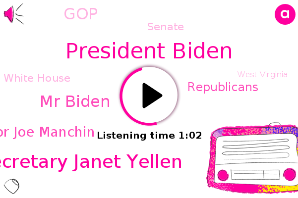 Listen: Biden, Yellen say GOP virus aid too small, Democrats push on