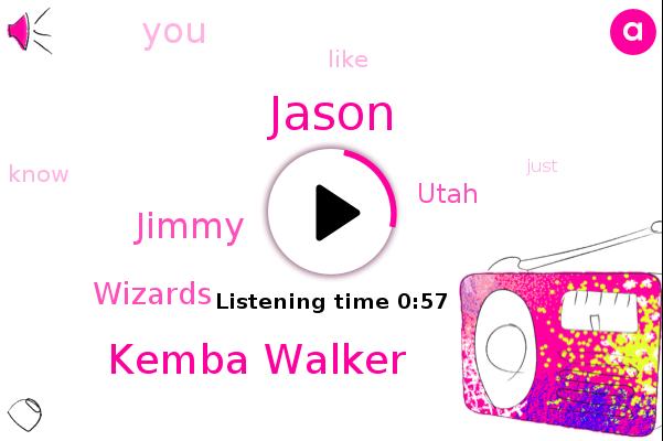 Wizards,Jason,Kemba Walker,Utah,Jimmy