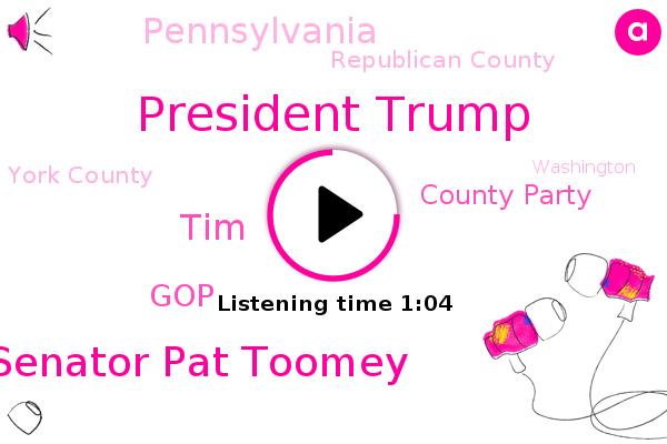 Listen: Pennsylvania GOP may censure Sen. Pat Toomey over his impeachment vote