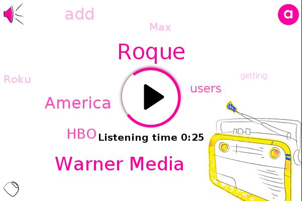 Warner Media,HBO,Roque,America
