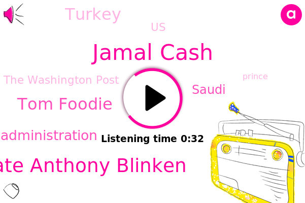 Jamal Cash,Biden Administration,Saudi,Secretary Of State Anthony Blinken,Turkey,The Washington Post,Tom Foodie,United States