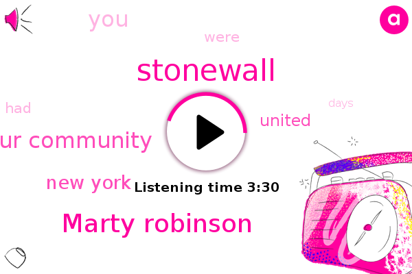 Marty Robinson,Foundation Of Our Community,Stonewall,New York,United