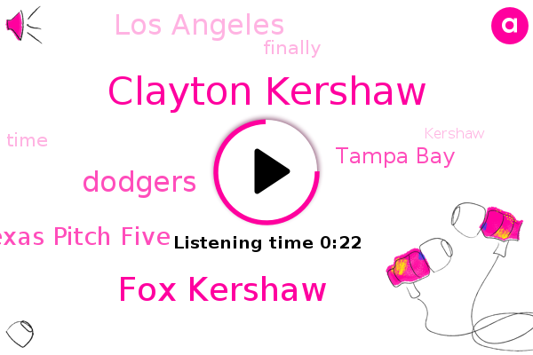 Listen: Dodgers' Clayton Kershaw to face Rays in World Series Game 1