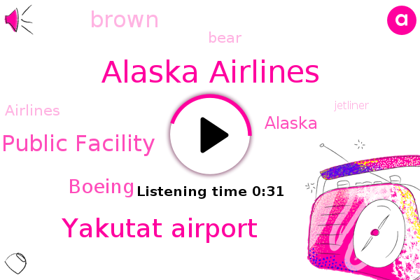 Alaska Airlines,Yakutat Airport,Department Of Transportation And Public Facility,Alaska,Boeing