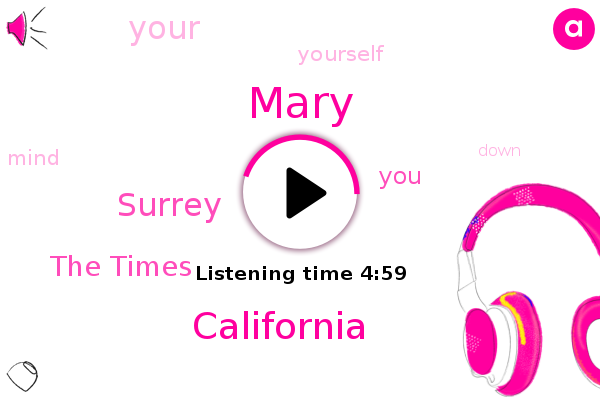 Mary,California,Surrey,The Times