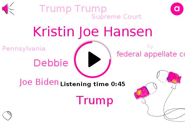 Listen: 'Frankenstein's Monster': Judge Slams Trump Team's Efforts to Overturn Election Results