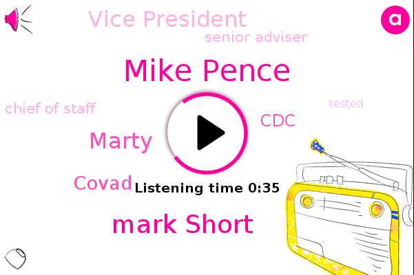 Listen: 5 Pence Aides Test Positive for the Coronavirus