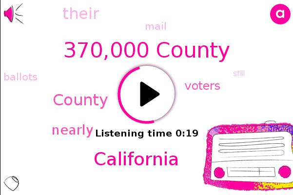 370,000 County,California