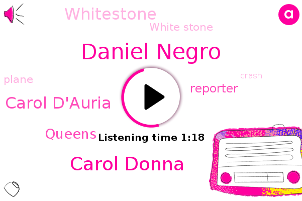 Daniel Negro,Carol Donna,Carol D'auria,Whitestone,Queens,White Stone,Reporter