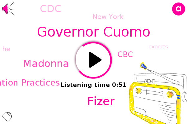 Governor Cuomo,Advisory Committee On Immunization Practices,CBC,New York,CDC,Fizer,Madonna