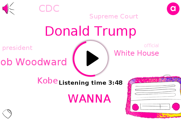 Donald Trump,White House,CDC,Wanna,President Trump,West Wing,Bob Woodward,Supreme Court,Kobe,Official