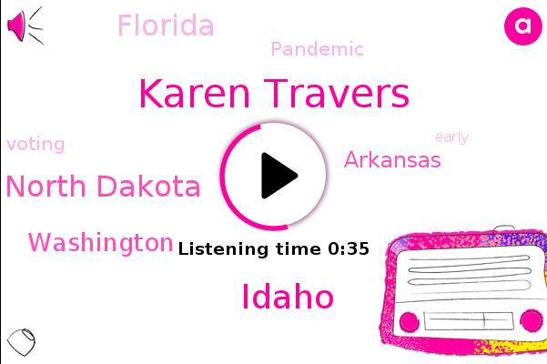Karen Travers,ABC,Pandemic,North Dakota,Washington,Arkansas,Idaho,Florida