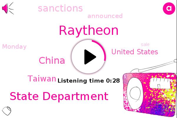 Taiwan,China,Raytheon,United States,State Department