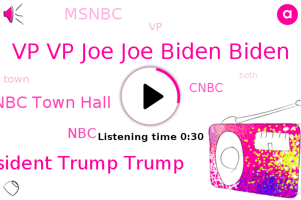 Listen: Biden Beats Trump in Town Hall Television Early Ratings