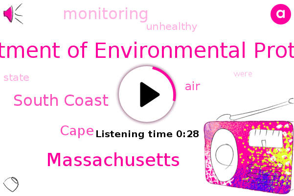 Department Of Environmental Protection,Massachusetts,South Coast,Cape