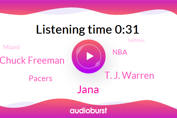 Jana,Miami,NBA,Pacers,T. J. Warren,Chuck Freeman
