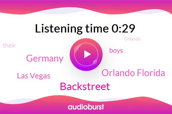 Orlando Florida,Germany,Las Vegas,Backstreet