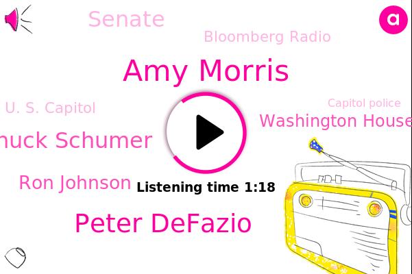 Amy Morris,Washington House Transportation And Infrastructure,Senate,Peter Defazio,Bloomberg Radio,U. S. Capitol,Bloomberg,Capitol Police,Washington,National Guard,Chuck Schumer,Ron Johnson