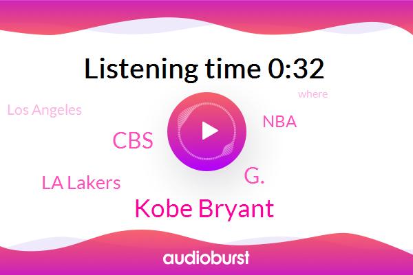 Los Angeles,CBS,Kobe Bryant,G.,La Lakers,NBA