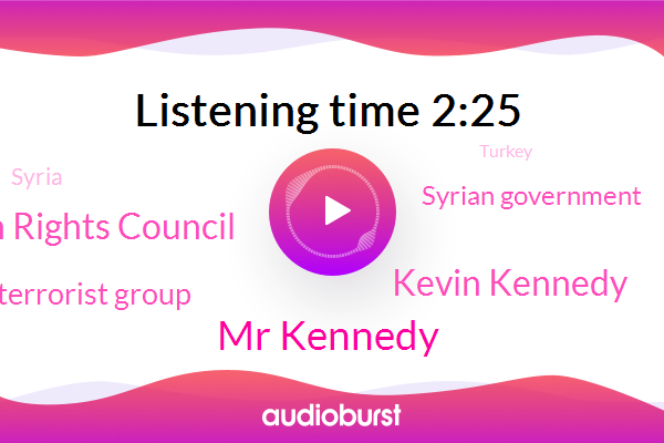 Syria,Un Human Rights Council,Mr Kennedy,UN,Turkey,Humanitarian Coordinator,Kevin Kennedy,H. T. S. Terrorist Group,Syrian Government,Aleppo,Official