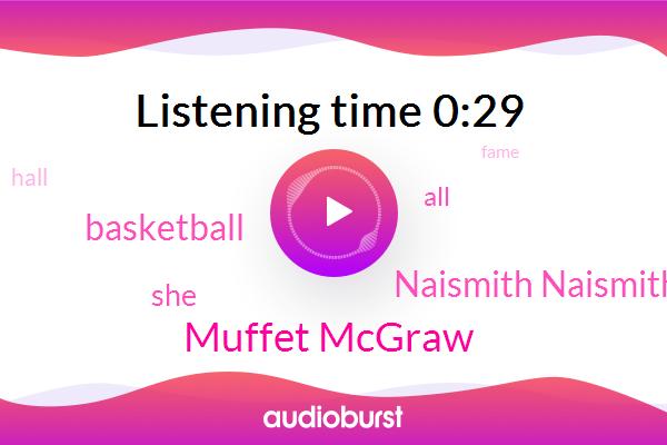 Muffet Mcgraw,Basketball,Naismith Naismith Memorial Basketball Hall Of Fame