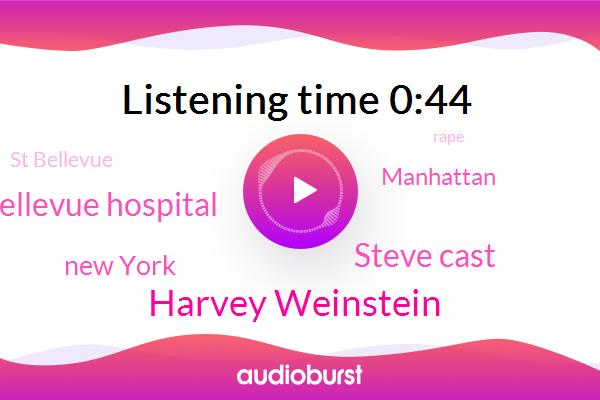 Rape,Harvey Weinstein,Bellevue Hospital,New York,Manhattan,St Bellevue,Assault,Steve Cast,Reikers Island