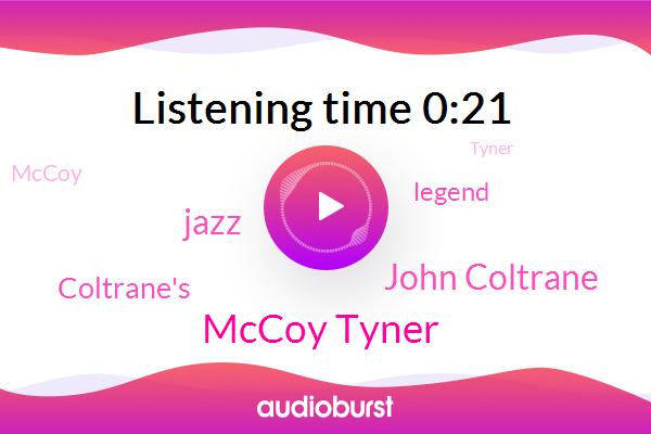 Mccoy Tyner,John Coltrane