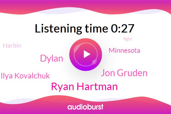 Ryan Hartman,Jon Gruden,Minnesota,Dylan,Harbin,Ilya Kovalchuk