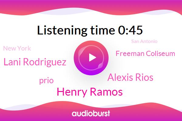 Henry Ramos,Alexis Rios,Lani Rodriguez,Prio,Freeman Coliseum,New York,San Antonio,Texas,Reporter,Beijing