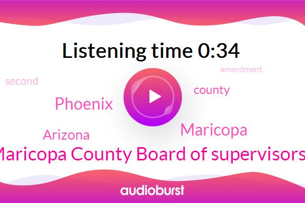 Arizona,Phoenix,Maricopa,Maricopa County Board Of Supervisors