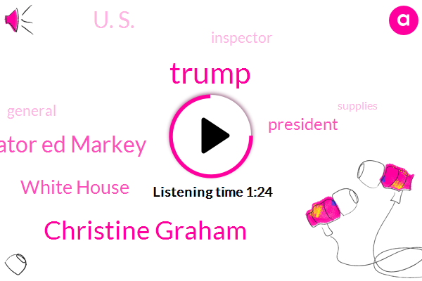 Donald Trump,Christine Graham,White House,President Trump,U. S.,Senator Ed Markey