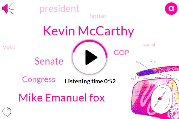 Senate,Congress,Kevin Mccarthy,President Trump,GOP,Mike Emanuel Fox