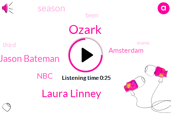 Ozark,Laura Linney,Jason Bateman,NBC,Amsterdam