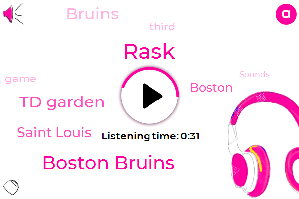 Boston Bruins,Boston,Td Garden,Rask,Saint Louis