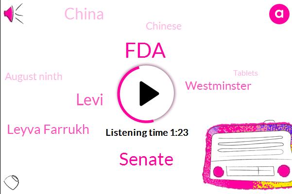 China,FDA,Westminster Pharmaceutical,United States,Doxycycline,Leyva Farrukh,Mr. Pharmaceutical,NIN,Levi,Endocrine Diseases,Hong Kong,NBC,Hastings Center,Lyle,Rosemary Gibson,Senior Adviser