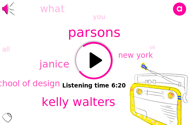 Kelly Walters,Parsons School Of Design,Janice,New York,Parsons