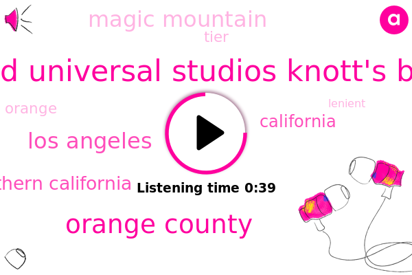 Disneyland Universal Studios Knott's Berry Farm,Orange County,Magic Mountain,Los Angeles,Southern California,California