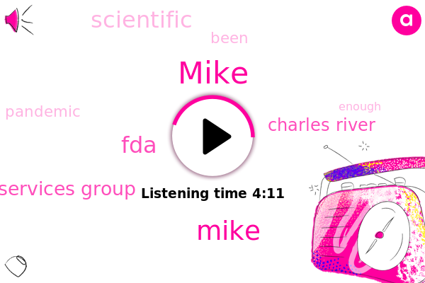 FDA,Charles River,Scientific Advisory Services Group,Mike