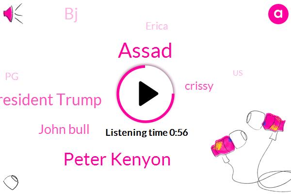United States,PG,Peter Kenyon,Assad,Turkey,NPR,President Trump,Oregon,Syria,John Bull,Crissy,BJ,Erica,Hilton