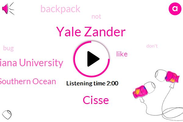 Yale Zander,Southern Ocean,Cisse,Indiana University