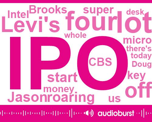 Listen: Levi Strauss back as public company, shares soar 30%